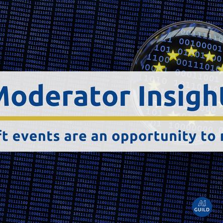 #datalift Moderator Insights