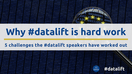 Why #datalift is hard work