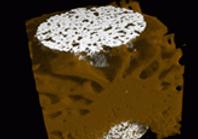 Tomografia Porosidade, fissuras em Materiais