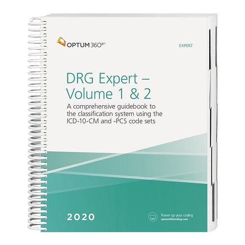 2020 DRG Expert (2 volume set)  DRG20
