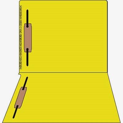 Kardex Match Alpha File Folders Yellow (box of 50)