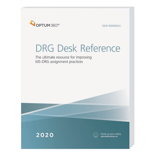 2020 DRG Desk Reference  DDR20