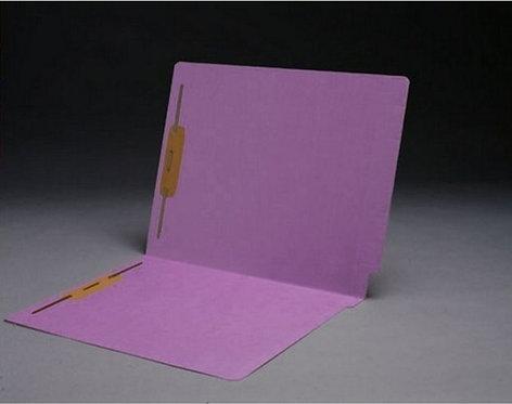 File Folders 1590 Lavender w/fast. in pos 1 & 3 (box of 50)