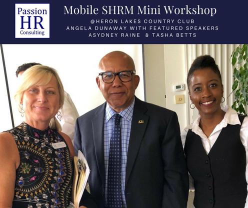 Mobile SHRM Mini Workshop