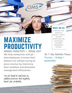 Maximize Productivity with CIMSgts