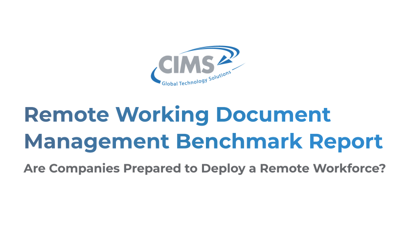 Remote Working Document Management Benchmark Report - Download Full PDF