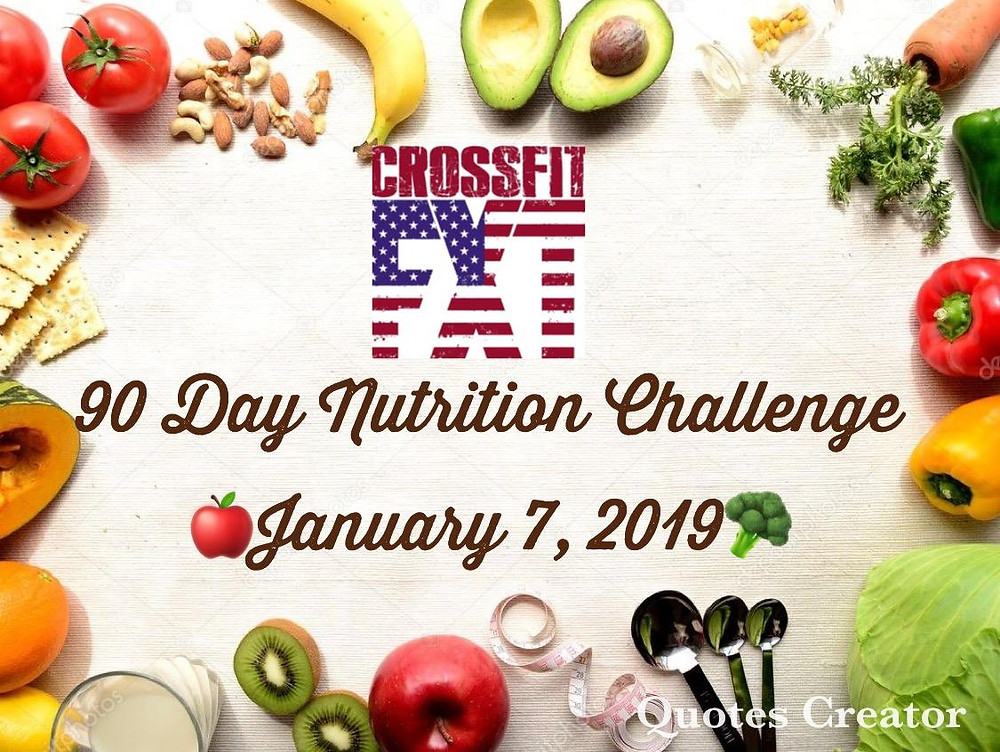90 Day Nutrition Challenge