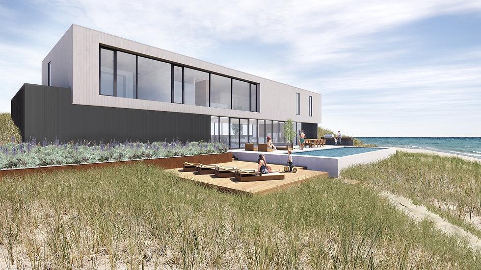 Custom Designed Beach Home