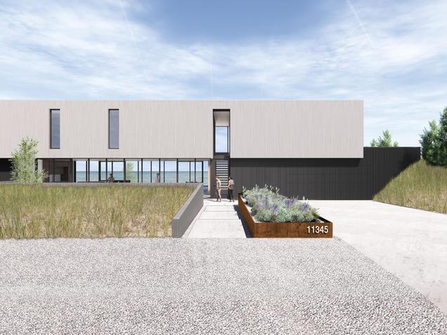 NEW BUFFALO BEACH HOUSE