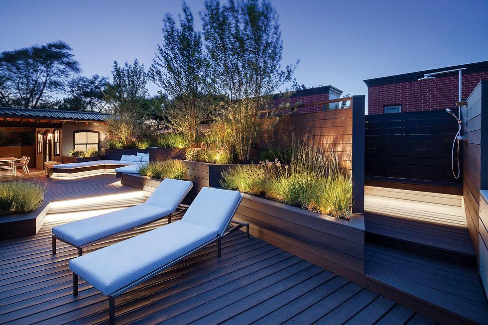 Luxuray Roof Deck Design