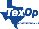 TexOp Construction Logo with Transparent