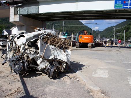 西日本豪雨災害支援サイト「いまできること」取材班として活動開始しました。