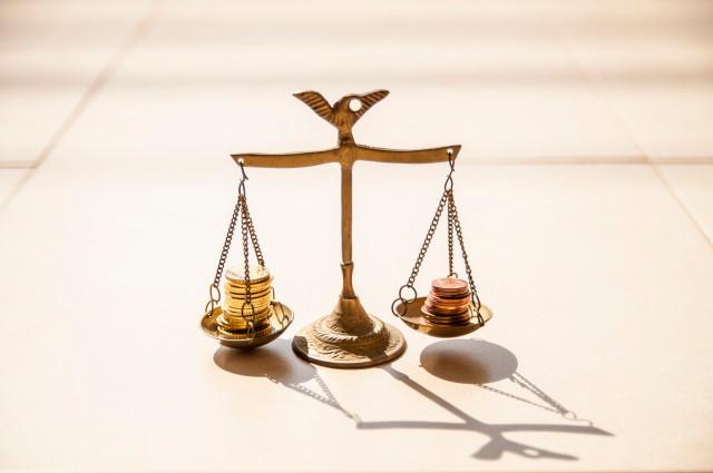 scale, libre, balance, coins