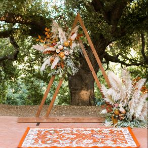 Dreamy Altars for Your At-Home Wedding
