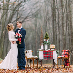 Plaid: The Perfect Element for your Winter Wedding