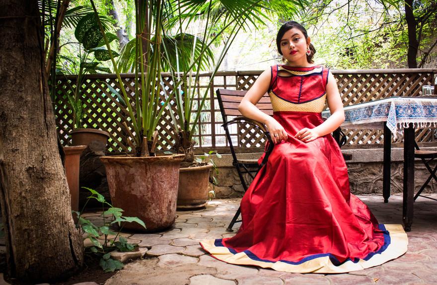 Playing Princess with Triveni Ethnics