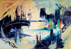 City Of  Dreams  30 X 36 SOLD