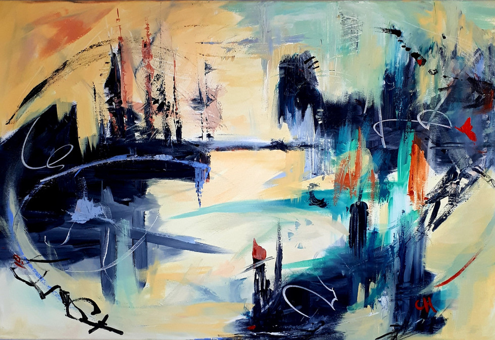 City of Dreams. 36x24 Original