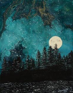 Left of Moon