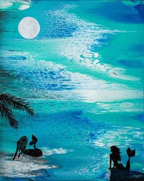 Moonlit Secret 16x20 SOLD Prints available