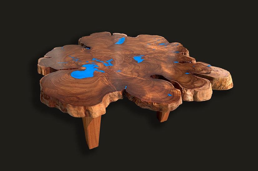 Natural Edge Koa Coffee Table - Unit A