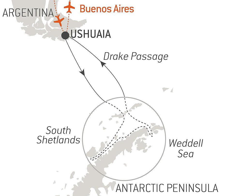10-Night Emblematic Antarctica