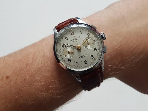 1950s Oversize Chronograph Suisse (Landeron Movement)