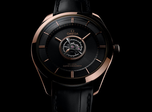 Omega's new COSC Tourbillon...