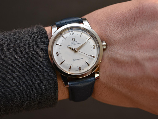 A serendipitously timed article: The Omega Seamaster 1948