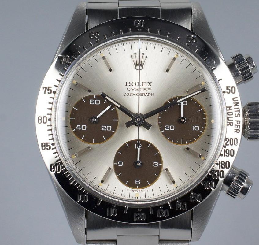 Rolex Daytona 6265 tropical subdials