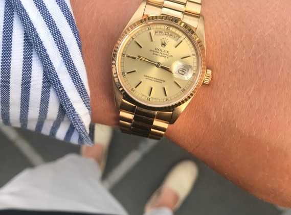 Rolex Daydate Ref. 18038