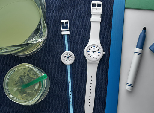 Hodinkee x Swatch Summer Edition!