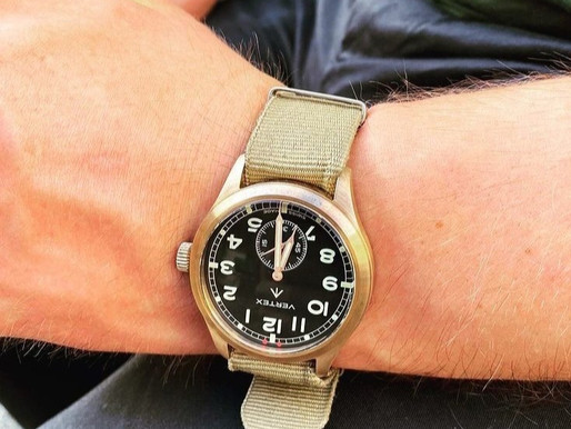 Vertex and the M100 Bronze 75: A great piece from a truly inspired brand with a clear narrative