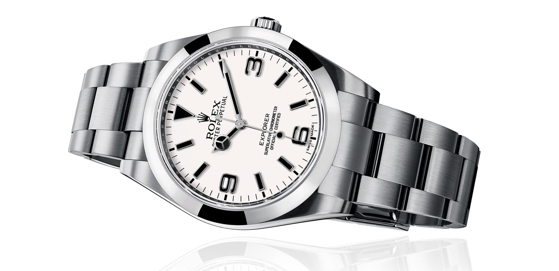 Rolex Explorer 1 Polar Dial
