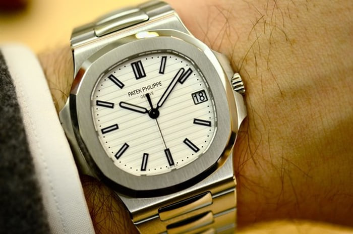 patek 5711 white dial