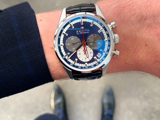 Buying your grail watch...