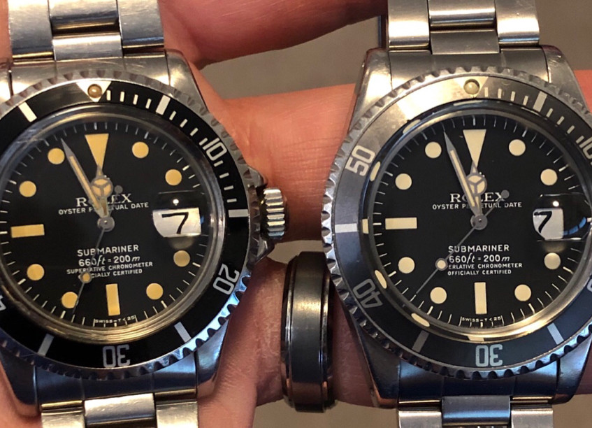 A pair of 1680 Sub's