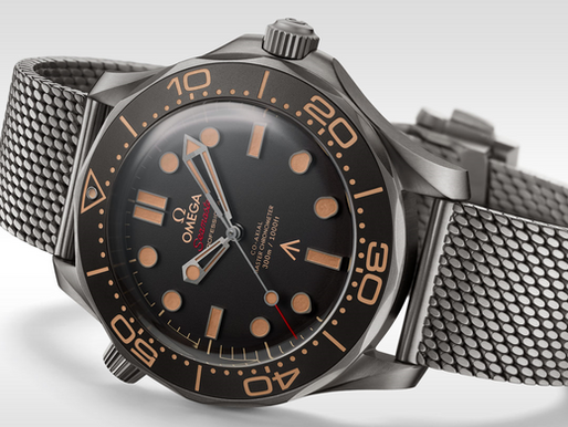 The new James Bond watch: Why I love the new Seamaster 300m 007 edition, Omega Seamaster 300m 007 ed