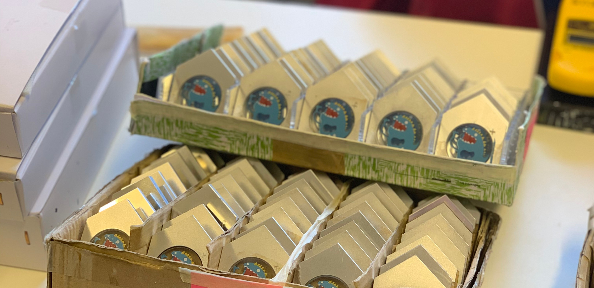 A run of 100 printed dials for my favourite Mr Smiths watch, the Number Cruncher.