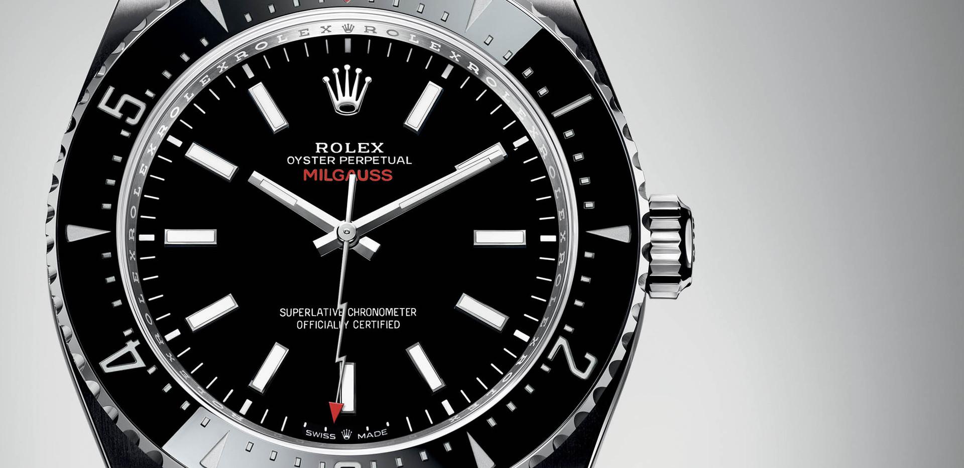 Rolex Millgaus