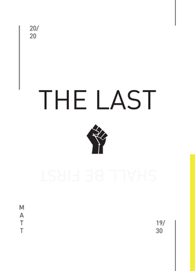 The Last Shall Be First // Ben Lindsay — Design