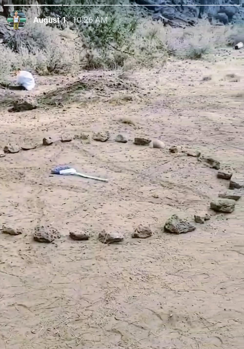 witchcraft-pentagram-in-woods
