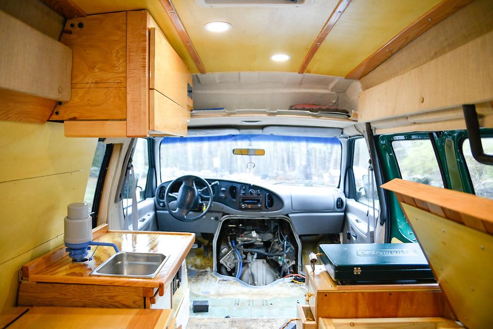 diy campervan build