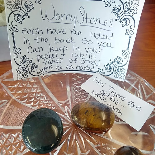 Worry Stones and Mini Sphere