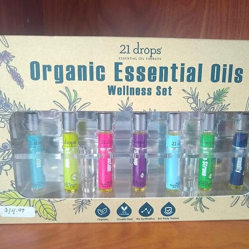 Organic oils set