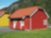 Små hytter sommer, Rjukan Hytteby