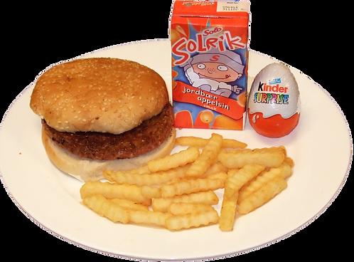 Barnemeny - burger eller kyllingnuggets