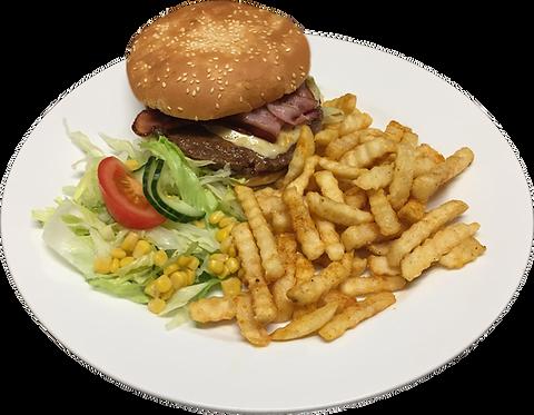 Hamburgertallerken