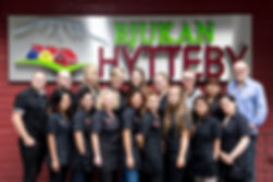 Employees at Rjukan Hytteby