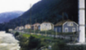 Flekkebyen, Rjukan early 1900´s